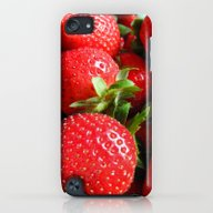 Abstract Strawberry Art iPod touch Slim Case