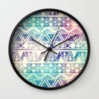 Tribal Orbit Wall Clock