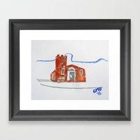 Igreja Nossa Senhora do Rosário de Fátima Framed Art Print