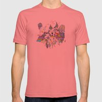 OURS OURS OURS Mens Fitted Tee Pomegranate SMALL