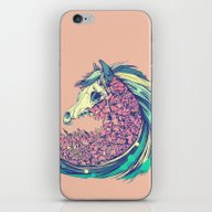 iPhone & iPod Skin featuring Beautiful Horse by Dvdesign
