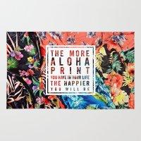 Aloha Print Life Rug