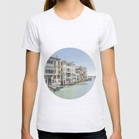 Venezia I Womens Fitted Tee Ash Grey SMALL