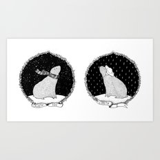 CALLETH YOU - COMETH I Art Print