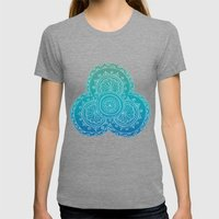 INDI_ART_4 Womens Fitted Tee Tri-Grey SMALL