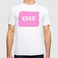 xoxo Mens Fitted Tee Ash Grey SMALL