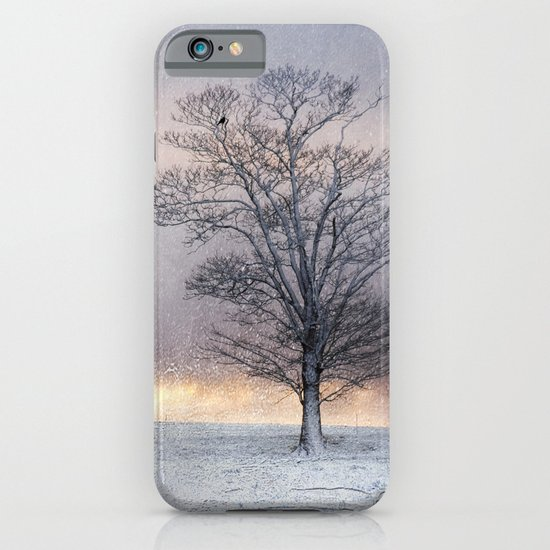 Winter Sunrise, Wramplingham, Norfolk iPhone & iPod Case