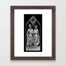 Dead Lovers (after Matthias Grünewald) Framed Art Print