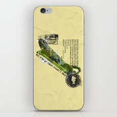 WHY DOES MY HEART DOESN' T BEAT? iPhone & iPod Skin