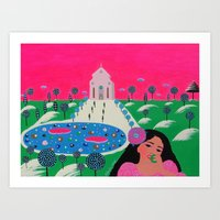 Alley To Your Heart Art Print