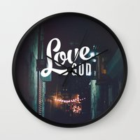 Love God Wall Clock