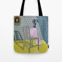 In The Dog House. Questi… Tote Bag