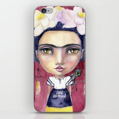 Little Frida by Jane Davenport iPhone & iPod Skin