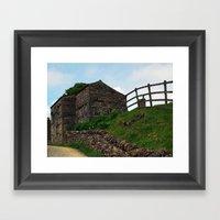 A Keld Barn Framed Art Print