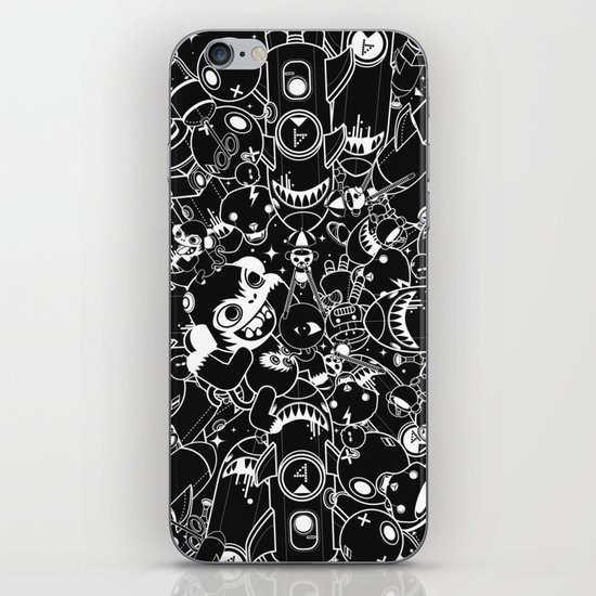 For Good For Evil iPhone & iPod Skin