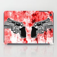 Double Triple (revolver) iPad Case
