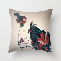 ash kokoodoo Throw Pillow