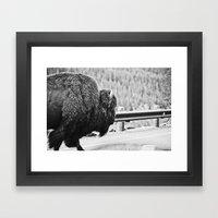 Close Encounters Framed Art Print