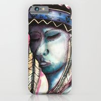 native american iPhone & iPod Cases featuring Native by Siriusreno