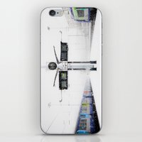 Blizzard In Paris iPhone & iPod Skin
