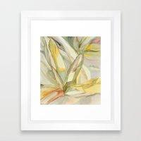 botanical inspiration 2 Framed Art Print