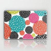 Tropical Flowers Laptop & iPad Skin