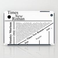 The Times New Roman iPad Case