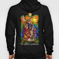 The Golden Goddesses  Hoody