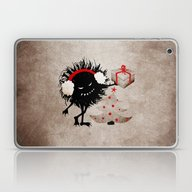 Evil Bug Gives Christmas… Laptop & iPad Skin