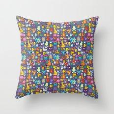 Pocket Collection 3 Throw Pillow
