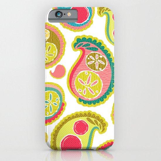 Veggie Paisley iPhone & iPod Case