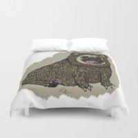 Bear Pug Duvet Cover