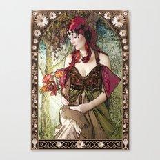 Nouveau Canvas Print