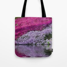 A Colorful River Tote Bag