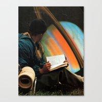 ...space Canvas Print