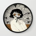 Into The Sun Wall Clock