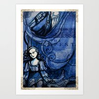 The Tempest - Miranda - … Art Print