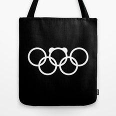 Olympic games logo 2014. Sochi. Bear. Tote Bag
