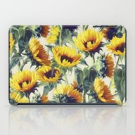 Sunflowers Forever iPad Case