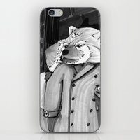 Panda Noir iPhone & iPod Skin