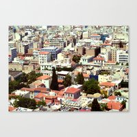 Overpopulated Canvas Print