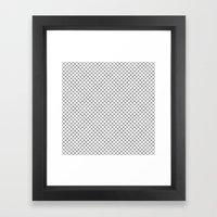 Grid 01 Framed Art Print