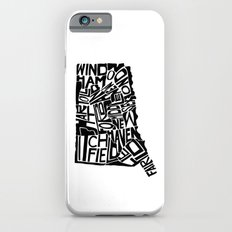 Typographic Connecticut iPhone 6s Slim Case