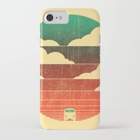 retro iPhone & iPod Cases featuring Go West by Picomodi