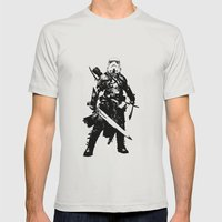 Fantasy Trooper Mens Fitted Tee Silver SMALL