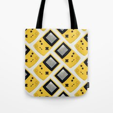 Gameboy Color: Yellow (Pattern) Tote Bag