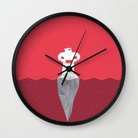 OS.O.S (Bears S.O.S.) Wall Clock