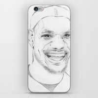 Lebron James iPhone & iPod Skin