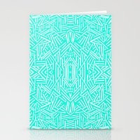 Radiate (Mint) Stationery Cards