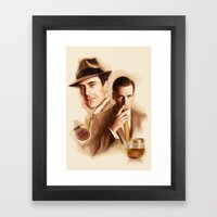 MAD MEN DON DRAPER Framed Art Print